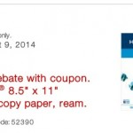 Staples: FREE Ream of HammerMill Copy Paper!