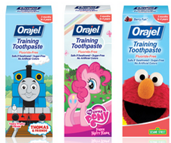 paste1 Rite Aid: Orajel Toddler Training Toothpaste Only $0.66