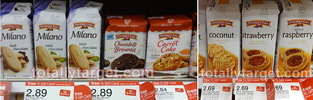pepperidge farm Target: Pepperidge Farm Cookies Only $1.69