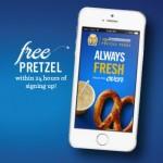 FREE Auntie Anne's Pretzel