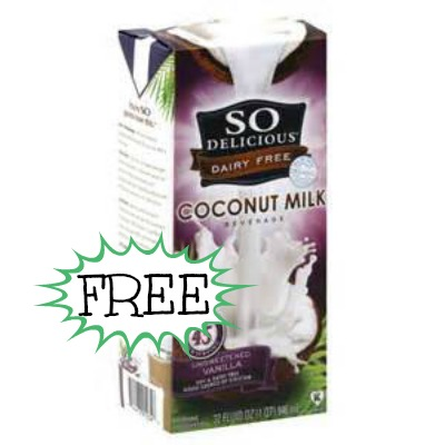 sodelicious FREE So! Delicious Coconut Milk at Walmart
