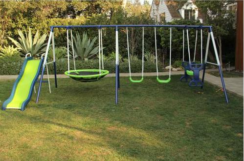 Hot Sportspower Rosemead Swing And Slide Set Only 169 16