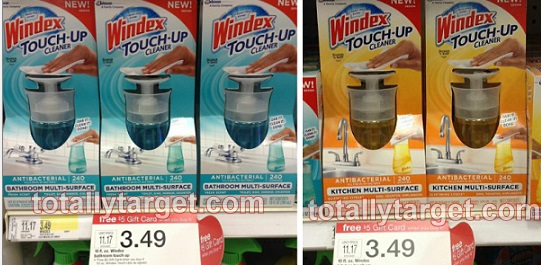 target *HOT* Windex Touch Up Cleaners Only $0.38!