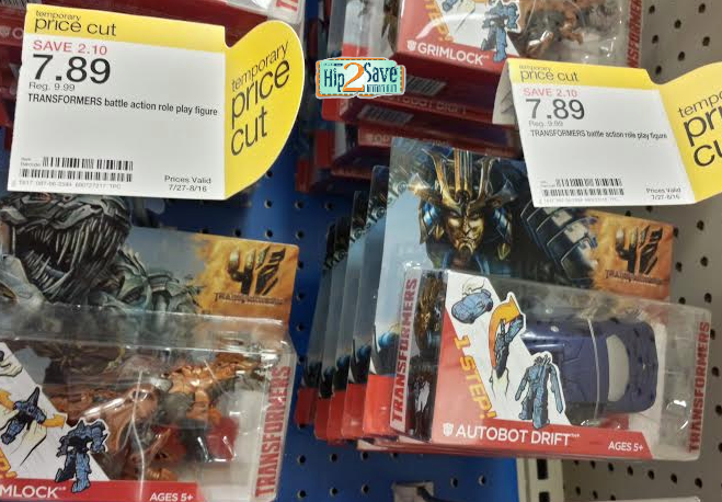 target *HOT* Target: Transformers One Step Changer Action Figures Only $3.94 (REG. $10!)