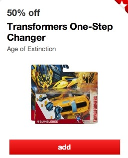*HOT* Target: Transformers One Step Changer Action Figures Only $3.94 (REG. $10!)
