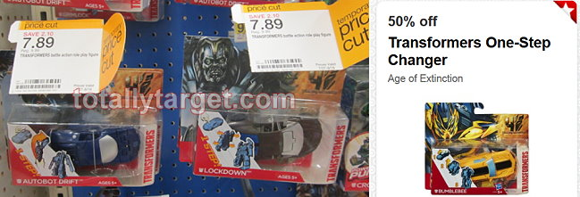 transformers target deal Target: Transformers One Step Changer Only $3.94 (Thru 8/16)