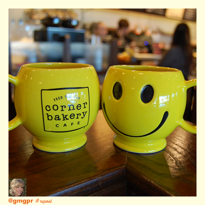 10628365 10152835131736004 5980305247132990928 n Corner Bakery Cafe: FREE Smiley Mugs Set (10/3)