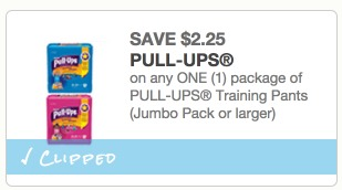 *HOT* CVS: Huggies Jumbo Pull Ups Only $4.24 per Package (Reg. $9!)