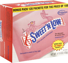4480001102 Walgreens: Sweet 'N Low Only $1.24