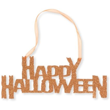 51 v2RxrTmL. SX425  Amazon: Happy Halloween Hanging Glitter Sign Only $3.13 Shipped