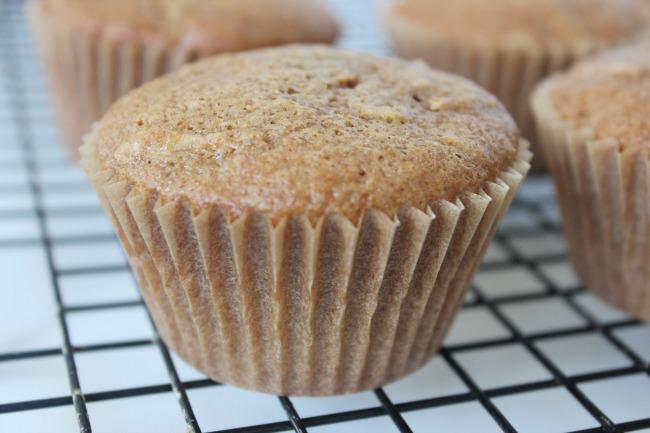 6 Caramel Apple Cupcakes