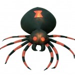 Amazon: 4 Foot Wide Halloween Inflatable Black Spider Yard Decoration Only $38 Shipped (Reg. $59.99)