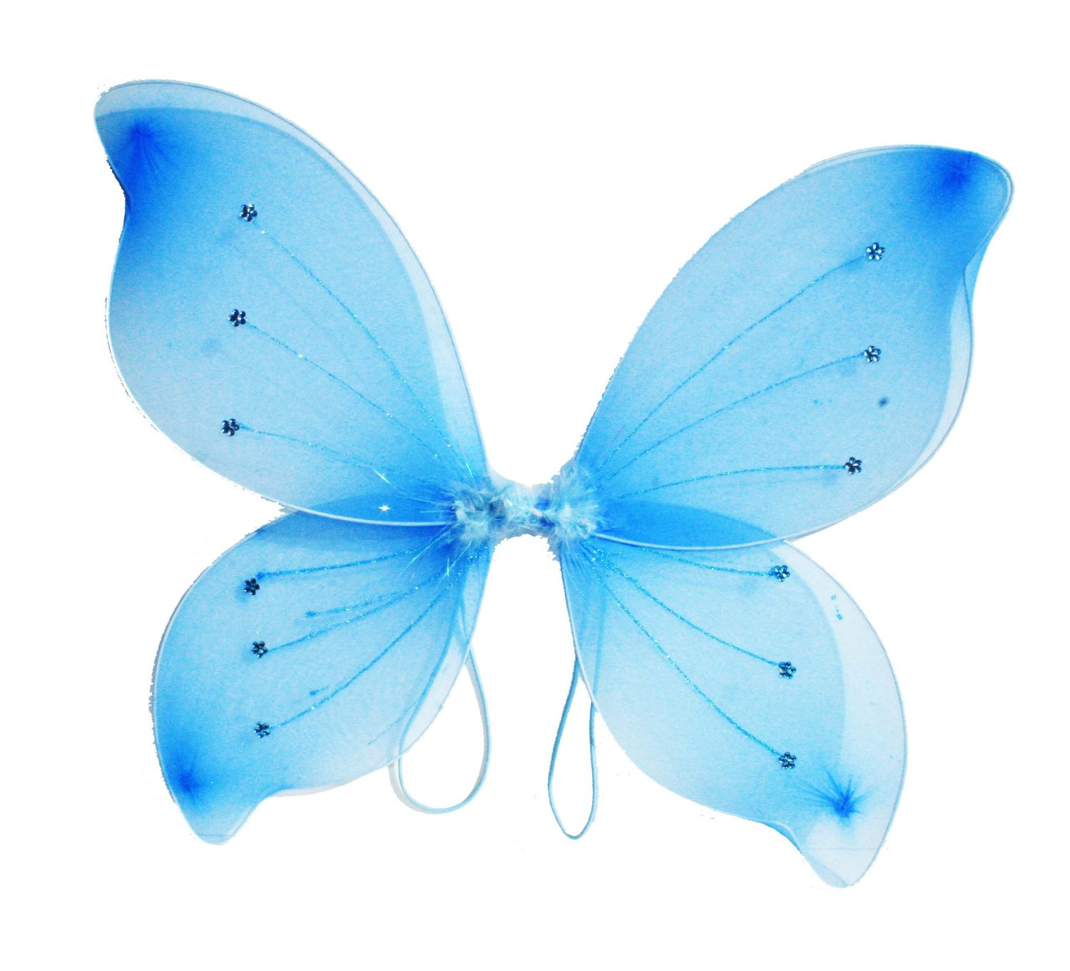 81O1mhTLSDL. SL1500  Amazon: 16x18 Fairy Wings Butterfly Costume   Light Blue Only $5.58 Shipped