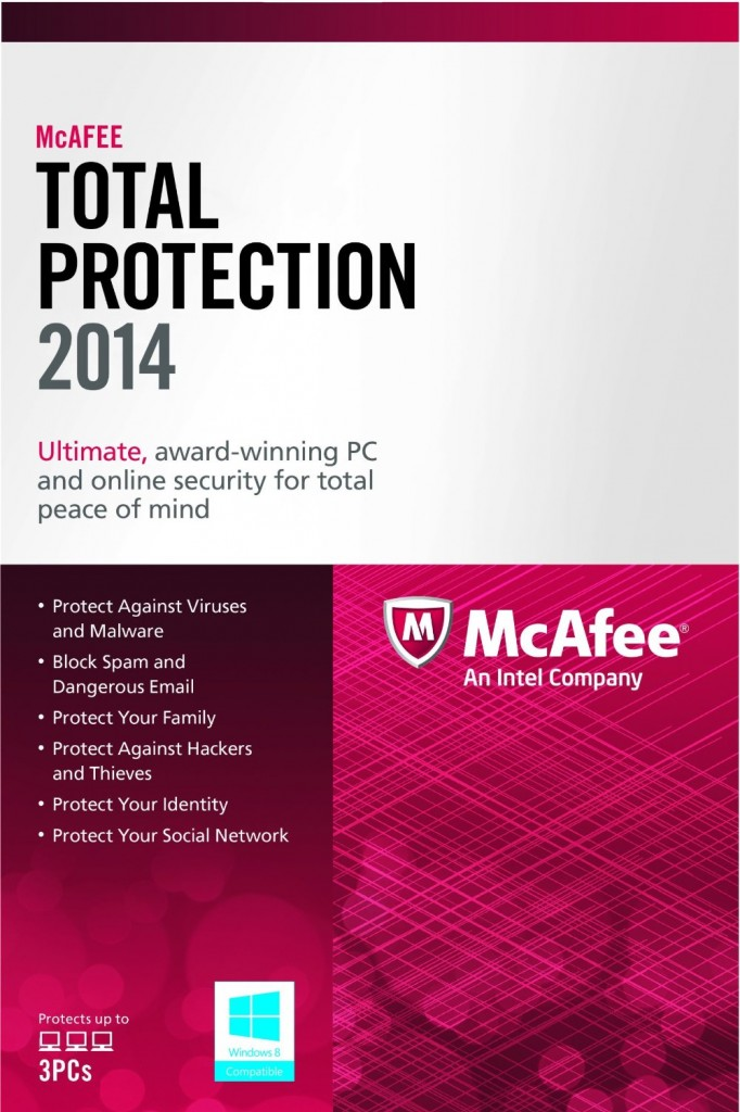 81aywP6zn9L. SL1500  682x1024 Amazon: McAfee Total Protection 3PC 2014 Only $17.99 (Reg. $79.99)