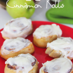 Apple Cinnamon Rolls with Cream Cheese Frosting