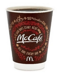McDonalds: FREE Small McCafe Coffee (No Purchase Required)