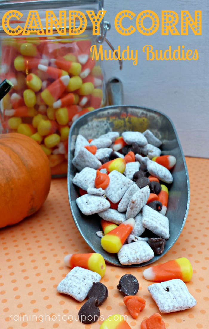 Candy Corn Muddy Buddies