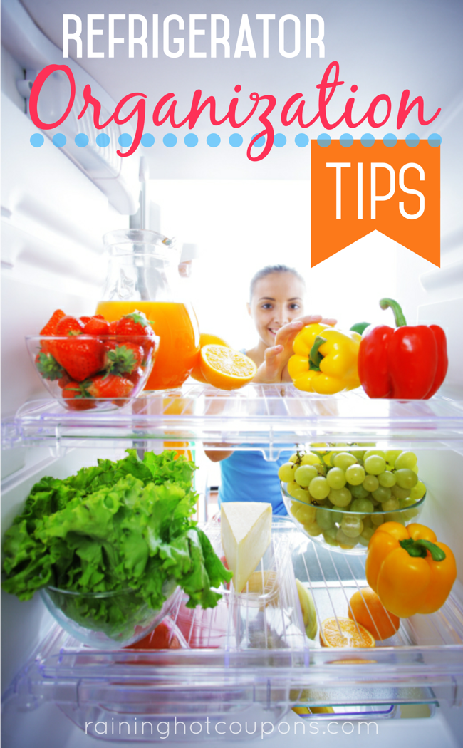 FRIDGE Refrigerator Organization Tips