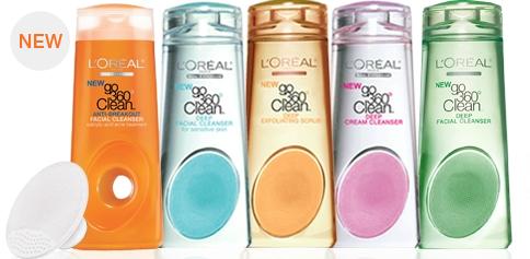L'Oréal Paris Go 360 Clean Deep Exfoliating Scrubs