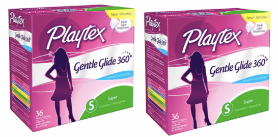 PLAYTEX *HOT* Large Box of Playtex Tampons Only $0.99 (Reg. $6.99) at Target