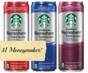StarbucksRefreshers update 300wide 300x248 $1.00 Moneymaker on Starbucks Refreshers at CVS