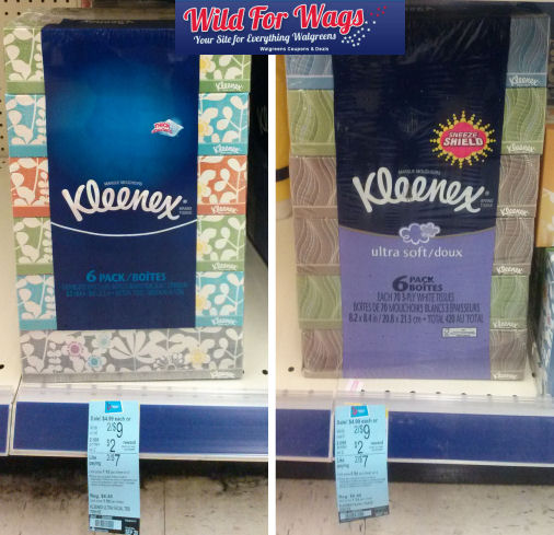W2 Walgreens: Kleenex Boxes ONLY $0.33 each!