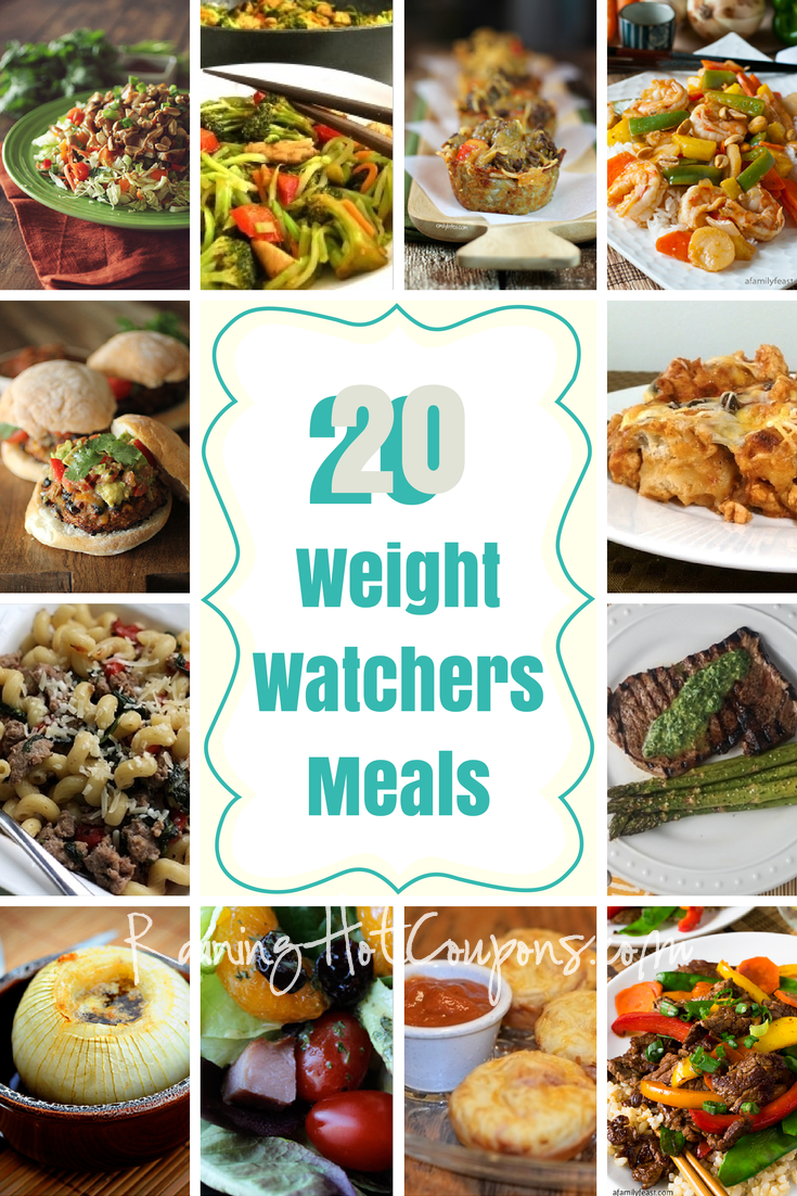 Weight Watchers Meals 3 20 Weight Watchers Meals