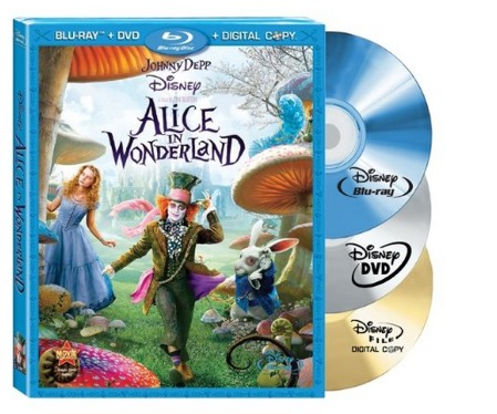 Amazon: Alice in Wonderland (3 Disc Blu ray/DVD Combo + Digital Copy) $10.69 Shipped (Reg. $44.99)!