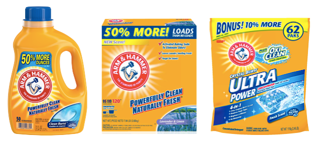 arm Arm & Hammer 2X Laundry Detergent Only $2.00!