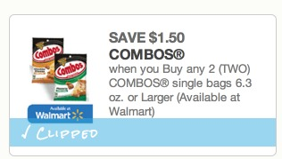 Combos Only $0.75 per Package!