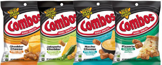 combos Combos Only $0.75 per Package!