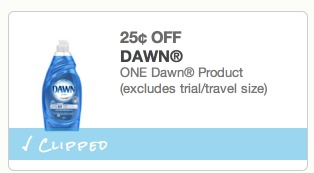 *HOT* Dawn Dish Soap ONLY $0.49 at Walgreens!