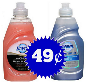 dawn *HOT* Dawn Dish Soap ONLY $0.49 at Walgreens!