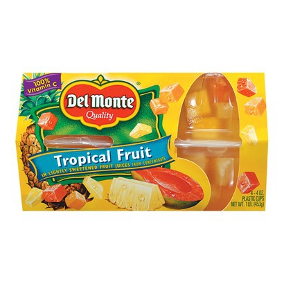 fruit ninja are del monte fruit cups healthy