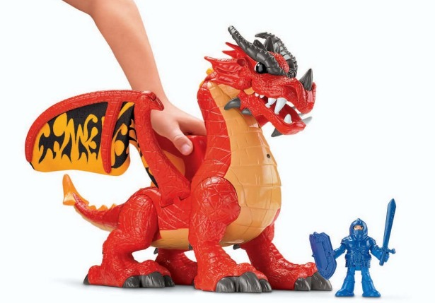 Amazon: Fisher Price Imaginext Castle Dragon Only $20.85 (Reg. $34.89)