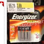 Target: Energizer Batteries AA or AAA 4-Pack Only $1.54