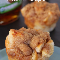 french toast muffin cups