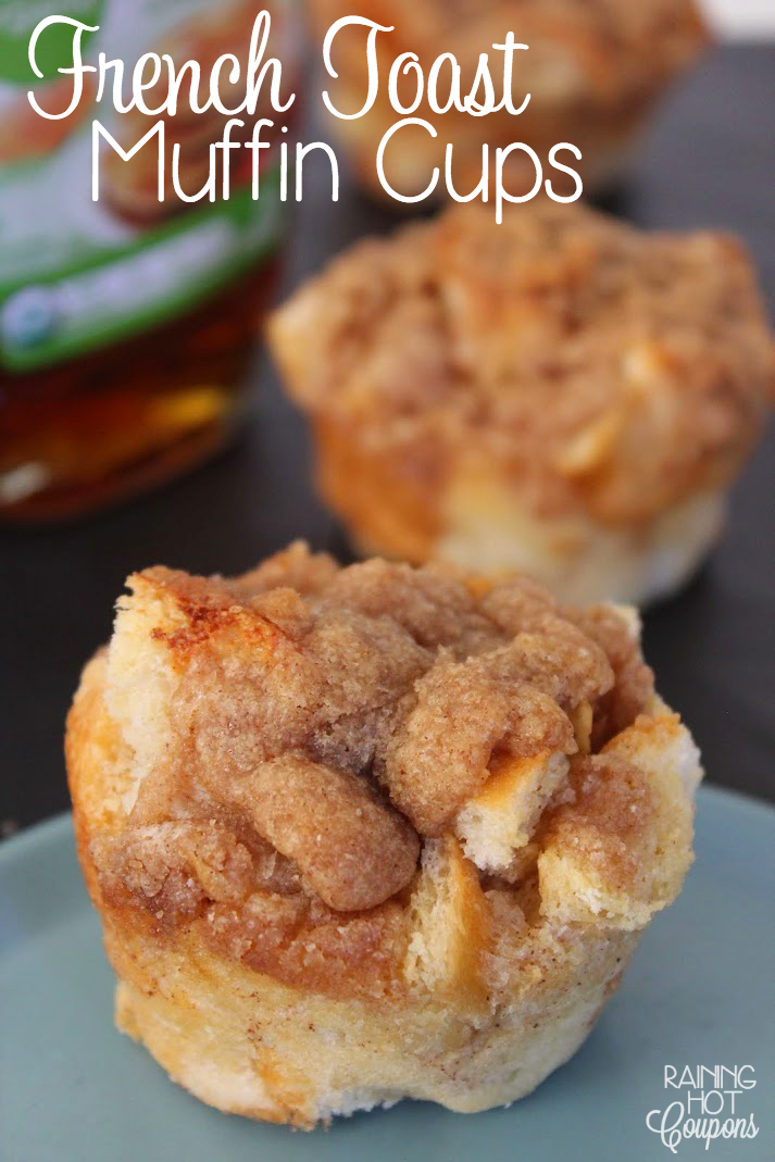 french toast muffin cups French Toast Muffin Cups