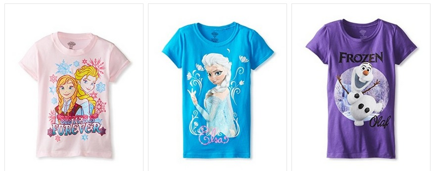 Disney Frozen Shirts Only $7 + FREE Shipping (Reg. $26!)   Boys and Girls!