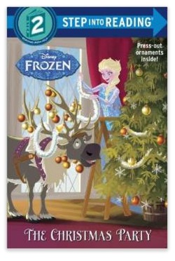 Disneys Frozen The Christmas Party Paperback Book Only $3.15!