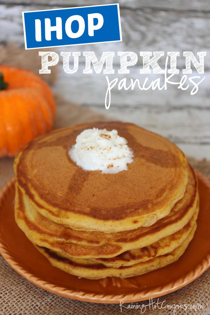 ihop pumpkin pancakes Copycat IHOP Pumpkin Pancakes