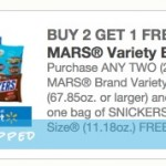 *HOT* Buy 2 Mars Variety Bags of Candy and Get a FREE Fun Size Bag (Perfect for Halloween!)