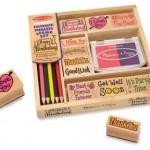 Amazon: Melissa & Doug Favorite Phrases Stamp Set Only $9.99!
