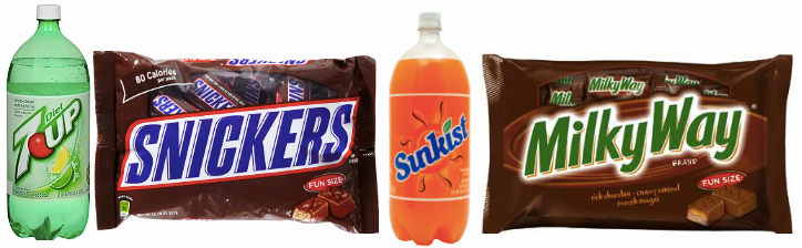 milk *HOT* Bags of Candy and 2 Liter Soda Only $0.99 each!