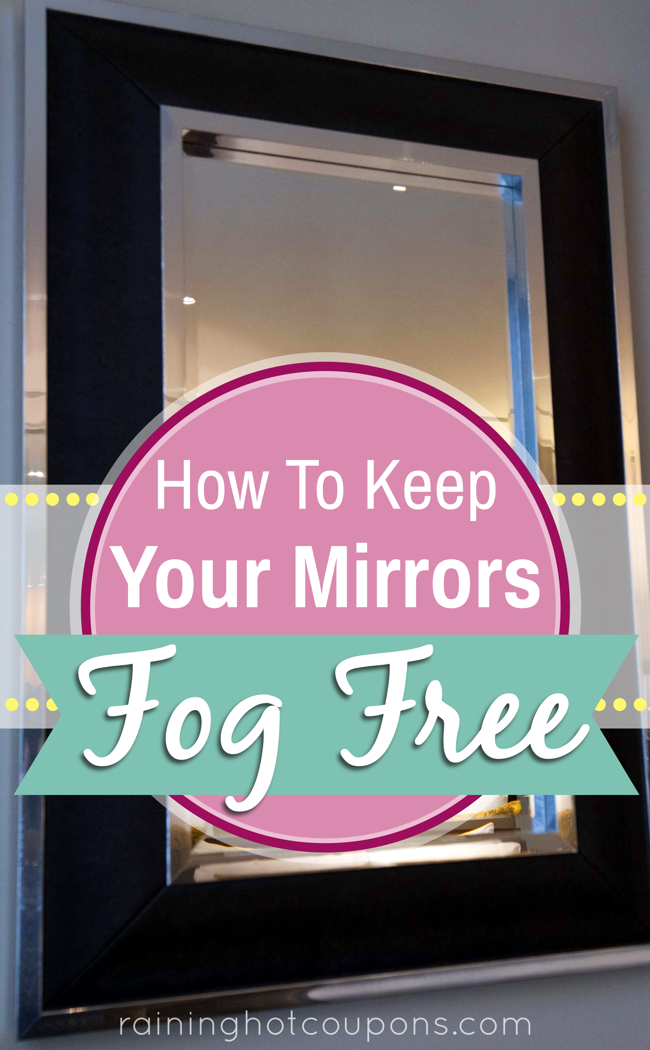 mirror How To Keep Your Mirrors Fog Free