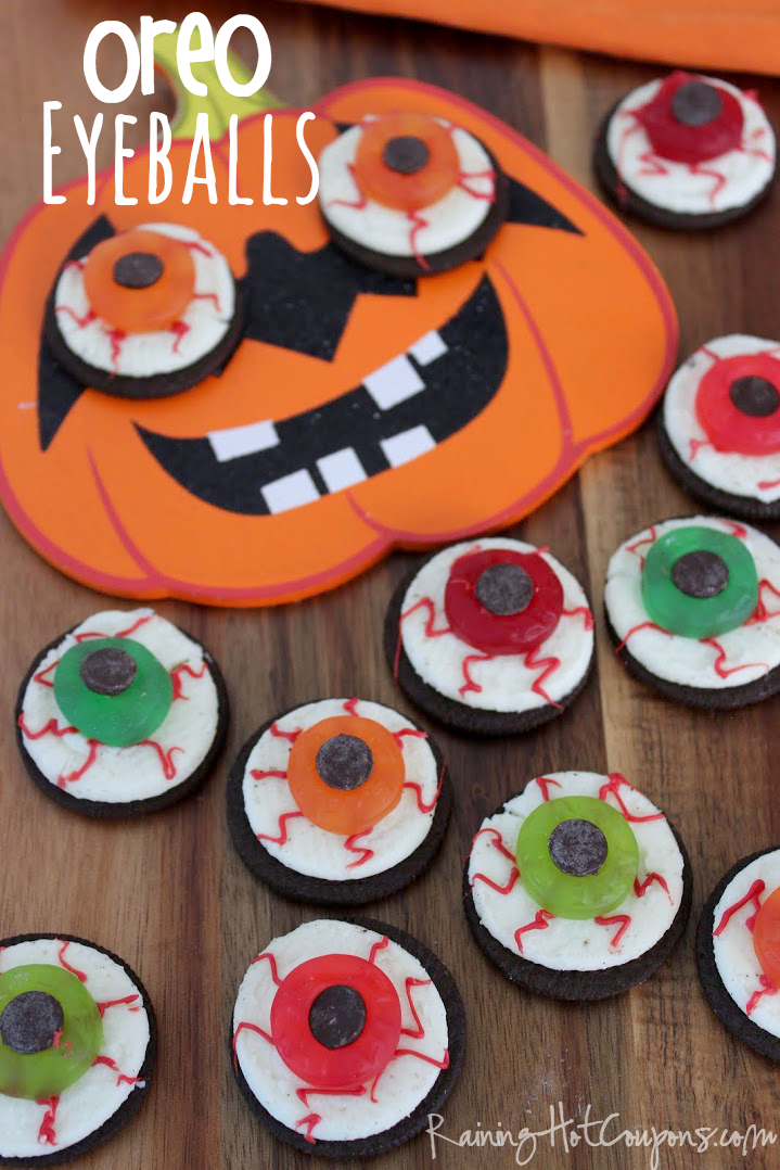 Oreo Eyeballs (Halloween Recipe)