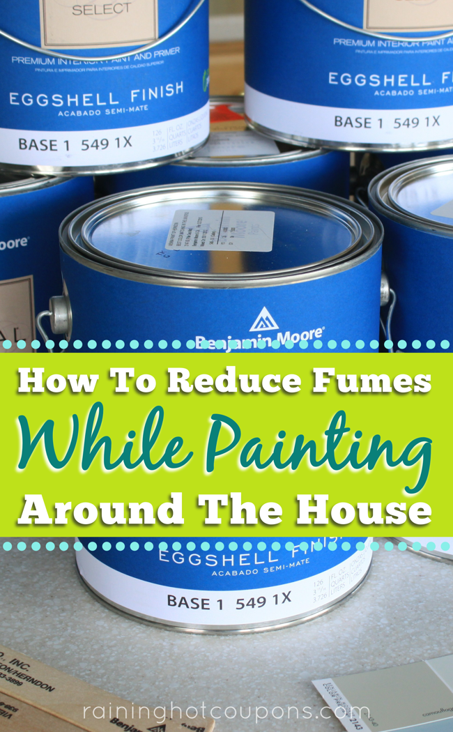 paint How To Reduce Fumes While Painting Around The House