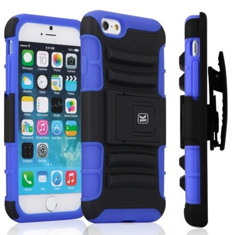 Apple iPhone 6 Heavy Duty Case with Holster Only $9.99 (Reg. $25.95)!