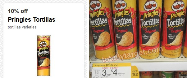 pringles coupon Target: Pringles Chips Only $0.87
