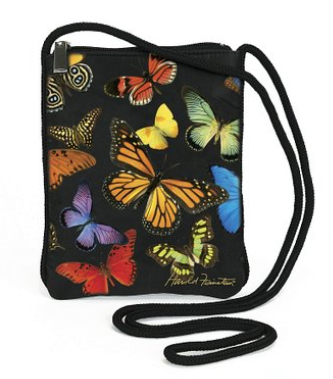 purse Amazon: Harold Feinstein Multi Butterfly Slim Shoulder Bag Only $19.90 Shipped (Reg. $40.95)